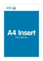 A4 insert