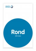 Rond 210 mm