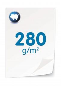 280 gr. Chromokarton